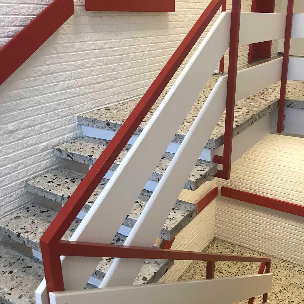 Maling af trappeopgange