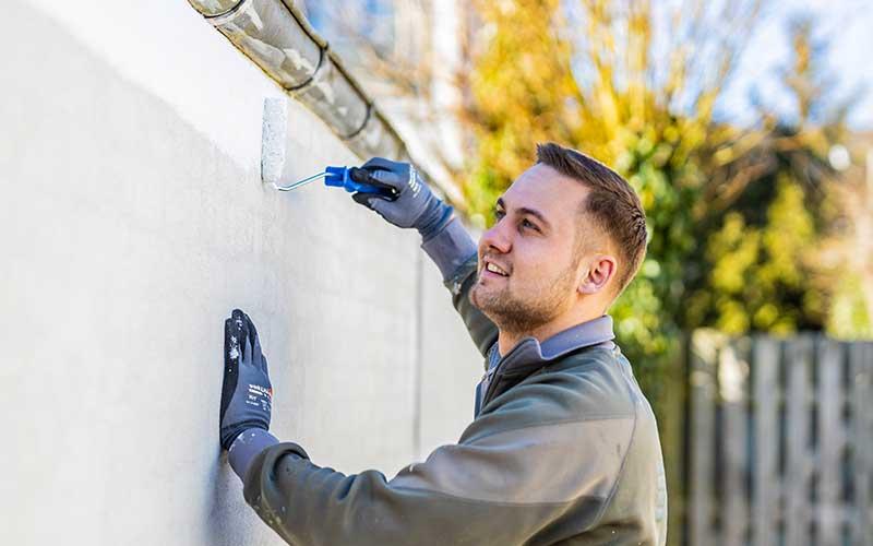 Malerfirma til maling af mure, vinduer og facader