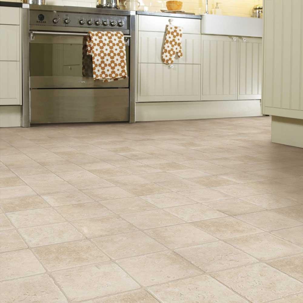 LVT gulvlægning i køkken
