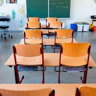 Maling af klasselokaler i skoler
